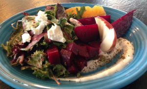 Uncommon Grounds beet salad